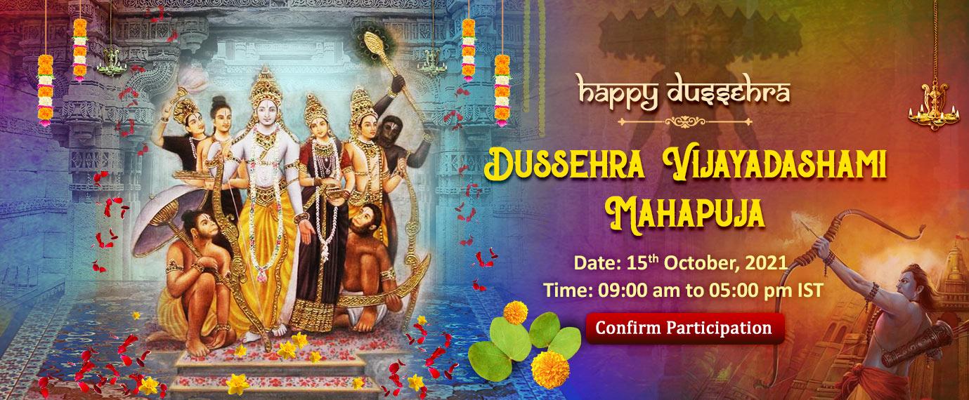 Dussehra Vijayadashami Maha Puja 15th Oct