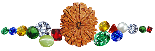 Gems and Rudraksha