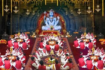 Rudra Abhishek at Trimbakeshwar by Rudra Centre