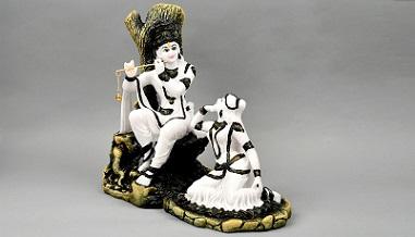 Special Divine Idol of Radha and Krishna