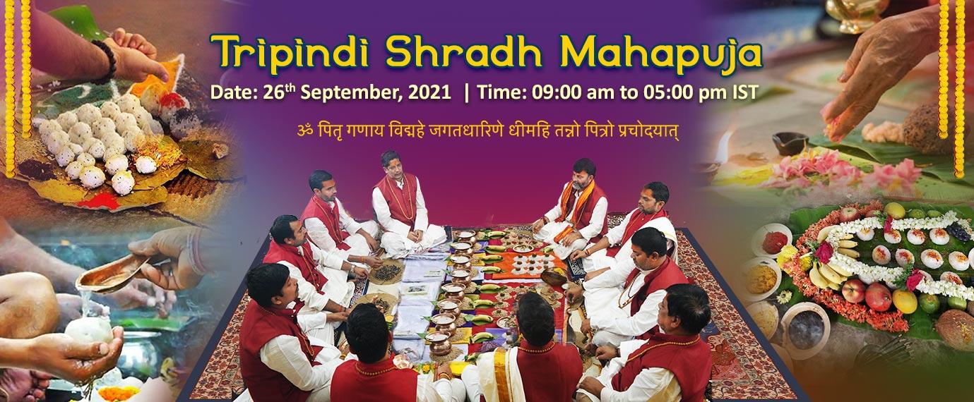 Tripindi Shradh Mahapuja - 26th Sept