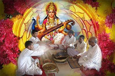 Maa Saraswati Puja Mantra Japa and Yajna