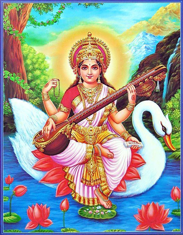 lord-saraswati