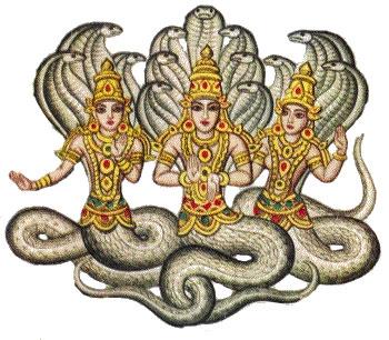 Symbolism of Snake king Vasuki