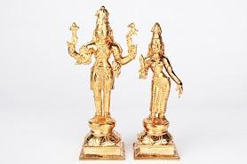 Shiv Parvati in Bronze