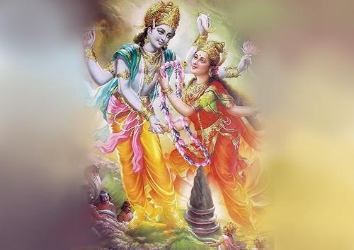 Manifestation of Goddess Mahalakshmi
