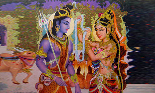 Shiv Parvati Marriage