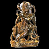 Lord Vishnu Gemstone idols