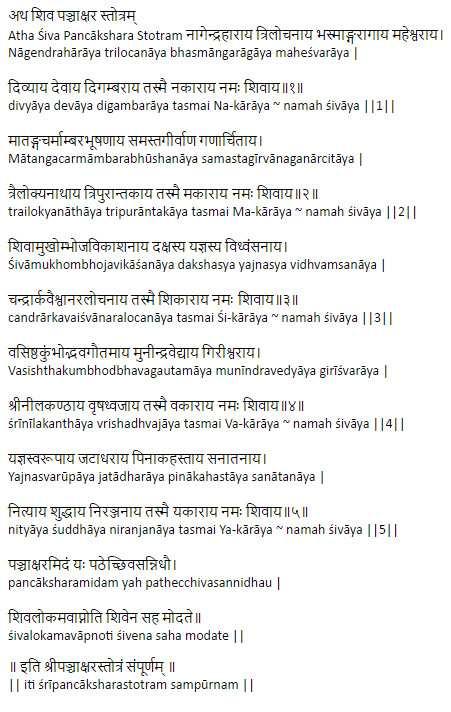 Panchakshari Mantra, Benefits of Panchakshari Mantra, Power