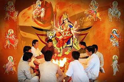 Navchandi Siddh Paath and Yajna