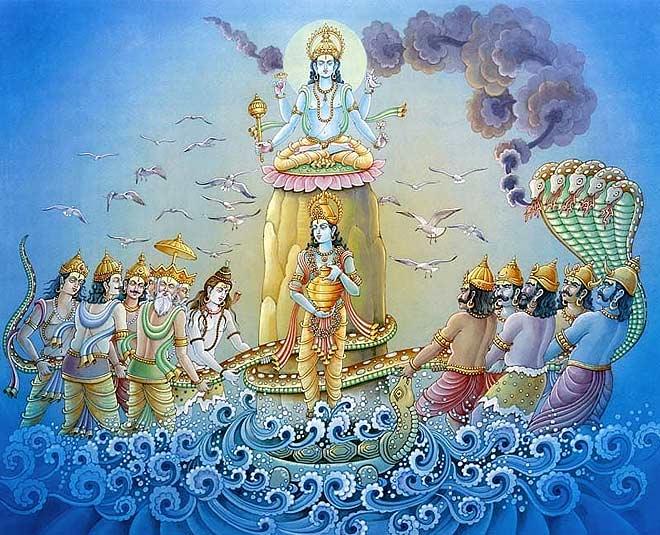The Significance of Mahashivratri - Samudra Manthan