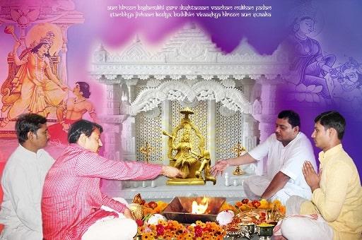 Goddess Baglamukhi
