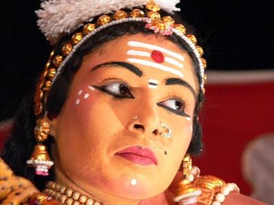 Vibhuti On Forehead