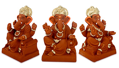 Eco-friendly Ganesh Idols