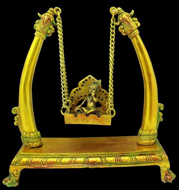 Bal Krishna on Swing