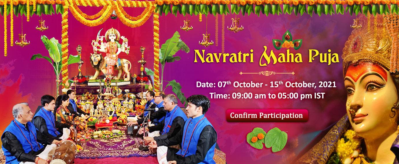 Navratri Maha Puja - 7th to 15th Oct