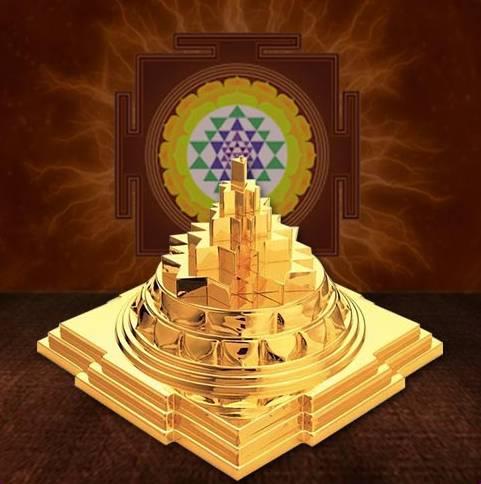 Sacred Sri Yantra Symbol