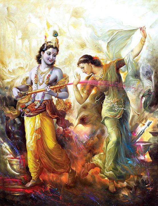 Radha Krishna Holi Story