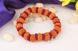 9 mukhi durga bracelet - Java