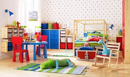 Children's bedroom, study room, toilets in the West
