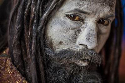 Sacred Ash On Aghoris