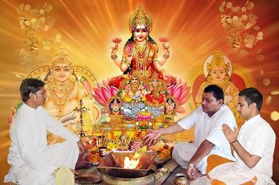 Laxmi Kuber Puja and Yajna