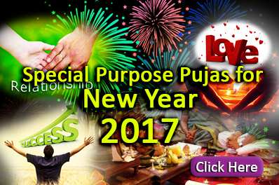 Special Purpose Pujas for New Year