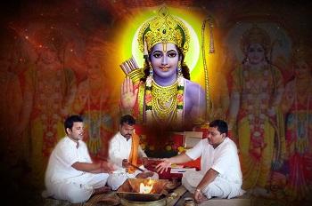 Sri rama navami Ram, Sita, Lakshaman and Hanuman