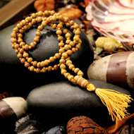 Sandal Wood Garland & Mala
