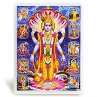 Vishnu Photo Frames
