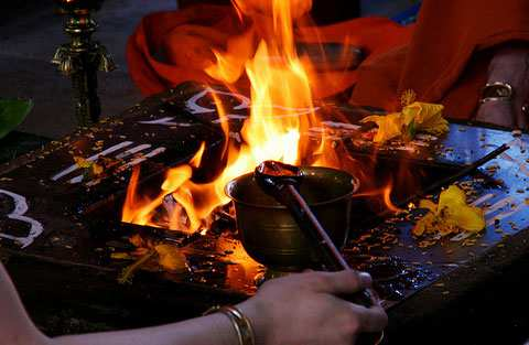 How to Perform a Havan Prcedure Mantras Items Position Steps