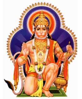 Hanuman Yantra Round Pendant By Pandit NM Shrimali