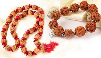 Nepali Rudraksha Kanthas & Bracelets