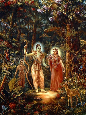 Devi sita and lord rama