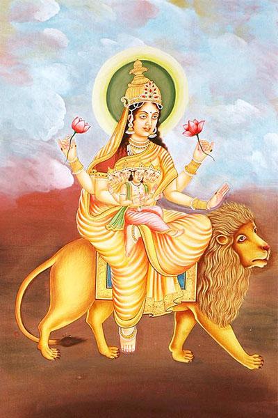 Goddess Skanda Mata Devi, Fifth Day Navratri Devi Puja Vidhi, Mantra,  Colors – Rudraksha Ratna