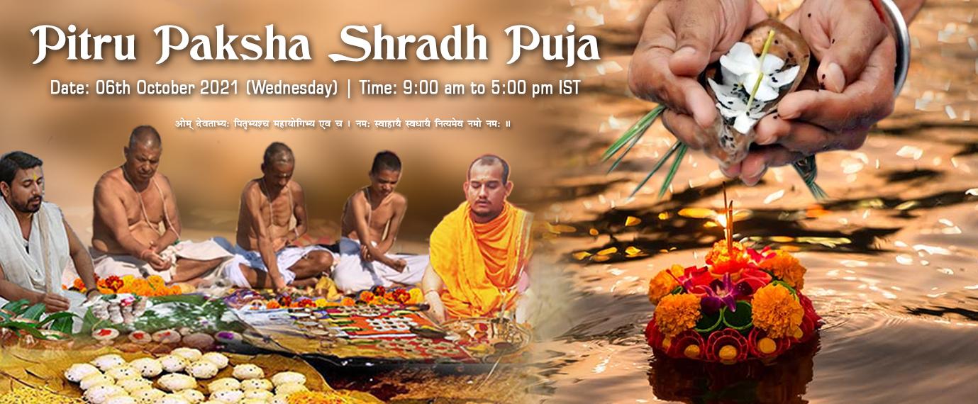 Pitru Paksha Shradh Mahapuja - 6th Oct