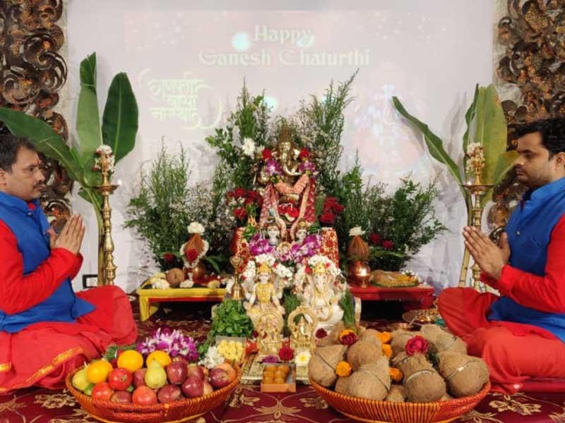Rituals of Vinayaka Chavithi