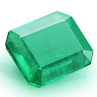 Emerald 3.50 carats Zambian
