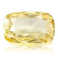 Yellow Sapphire - 3.04 carats - Cushion