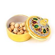 White Chirmi beads box
