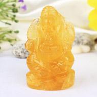 Fluorite Ganesha - 99 gms