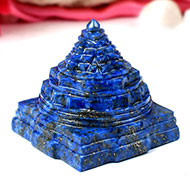 Lapis Lazuli Shree Yantra - 142 gms