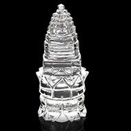 Sphatik Shree Yantra on Lotus - Design I