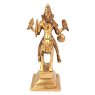 Jyotiba on Horse Brass Idol