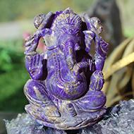 Lapis Lazuli Ganesha - 502 gms