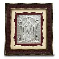 Tirupati Balaji in silver