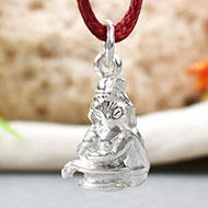 Ishwar Putra Locket in pure silver