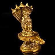 Designer Shiva Lingam with Snakehood