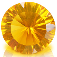 Yellow Citrine Superfine Cutting - 7.95 carats - Round