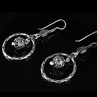 Earrings in Silver - Design XV